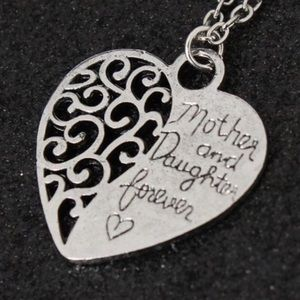🆕 (Z27) Mother & Daughter Forever Necklace